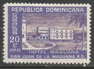 DOMINICAN REPUBLIC 442 MOG 887D