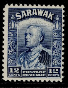 SARAWAK GV SG114, 12c blue, M MINT.