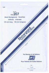 Mounts Showgard, 120/207mm (4ea Black) (00537B)