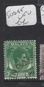 MALAYA STRAITS SETTLEMENTS (P0202B) KGVI  3C  SG 295  VFU