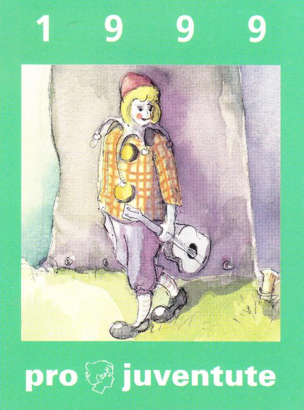 Swiss Pro-Juventute Booklet 1999 Childrens Stories  #Zum.No.48