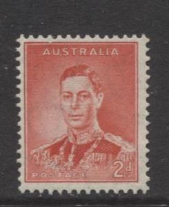 Australia - Scott 169 - KGVI -1937- MNH - Single - 2d stamp