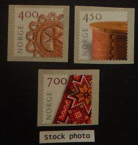 Norway 1274-76. 2001 Crafts, NH