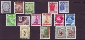 J20520 Jlstamps thailand mh #320,337-8,339-40,341-46,391,394,b42a pair