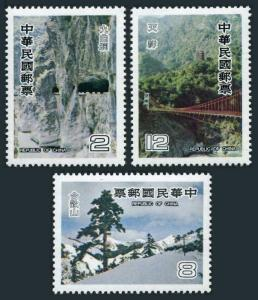 Taiwan 2183-2185,MNH.Michel 1321-1323. East-West Cross-Island Highway.1980.