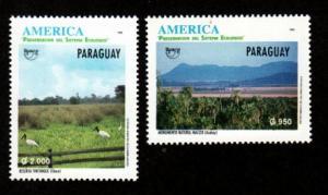 Paraguay 2521-2522 Mint NH!