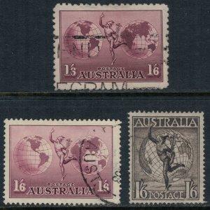 Australia #C4-6  CV $10.00