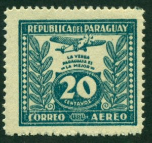 Paraguay 1933 #C65 MH SCV (2018) = $0.30