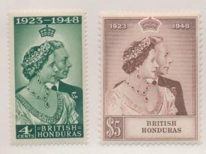 British Honduras Stamps Scott #129 To 130, Mint Hinged - Free U.S. Shipping, ...