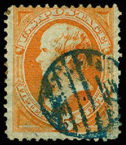 U.S. BANKNOTE CANCELS 152  Used (ID # 63990)