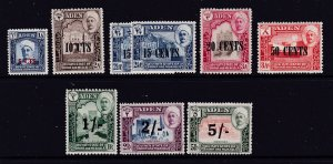 Aden Qu'aiti state the 1951 set Most mint but high values fine used