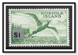 Norfolk Island #82 Red-Tailed Bird MNH