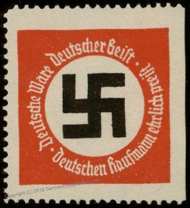 3rd Reich Germany Deutsche Ware Deutsche Geist Buy German Goods Stamp 96233
