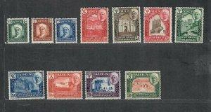 Aden Quaiti Sc#1-11 M/VLH/VF, Cv. $64.55