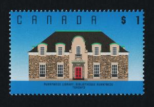 Canada 1181 MNH Runnymede Library, Toronto