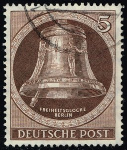 Germany #9N70 Freedom Bell; Used (4Stars)