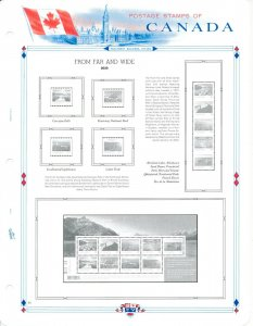 WHITE ACE 2019-2020 Canada Regular Issue Singles Stamp Album Supplement CR-40