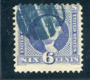 UNITED STATES (US)  115 USED, AVERAGE BLUE CANCEL