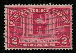 USA, 1913, 2 cents, SC #Q2, Parcel Post Stamps (T-7053)