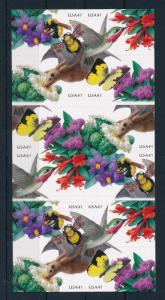 [42035] United States 2007 Animals Birds Insects Butterflies MNH Foil Sheet