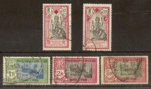 Indian Settlements 1914-15 inc Red Cross Fine Used Cat£46