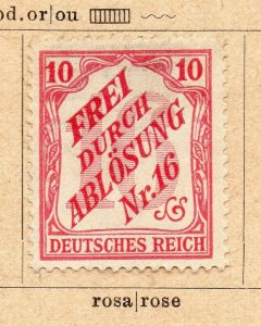 Germany 1903 Early Issue Fine Mint Hinged 10pf. NW-07973