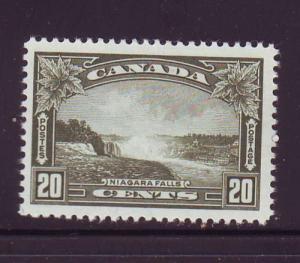 Canada Sc 225 1935 20c Niagara Falls stamp mint
