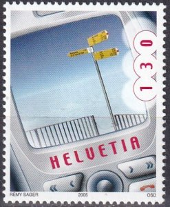 Switzerland #1219 MNH CV $3.00  (Z4598)