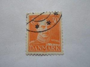 DENMARK USED STAMP HR # 9