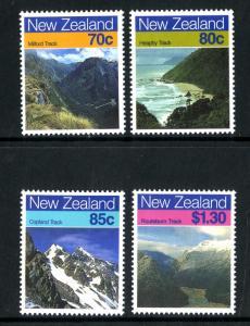PAPUA NEW GUINEA  903-6 MNH SCV $4.10 BIN $2.10 GEOGRAPHY