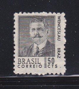 Brazil 1065 MH President Wenceslau Pereria Gomes Braz (A)
