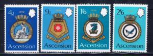 Ascension 134-37 NH 1970 set