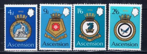 Ascension 134-37 NH 1970 set
