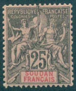 French Sudan #12  Mint  Scott $27.50