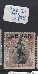 LABUAN  (P2010B)   1C  MAN    SG 62   MOG