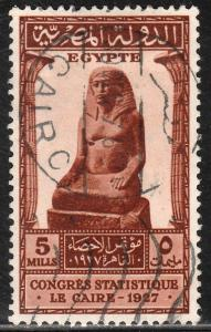 EGYPT 150, INTERNATIONAL.STATISTICAL CONGR. USED,   F-VF. (393)