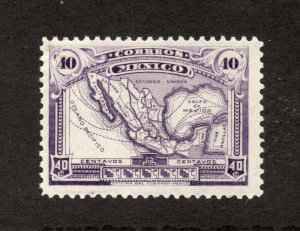 Mexico - Sc# 626 MVLH / unwmk     -       Lot 0420542