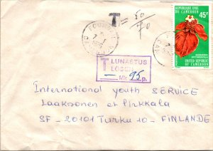 Cameroun, Flowers, Postage Due