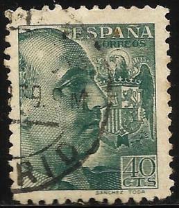 Spain 1939 Scott# 681 Used