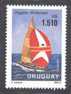 URUGUAY 1391 MNH WHITBREAD WORLD RACE