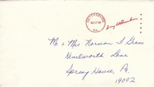 1966, Gettysburg to Spring House, PA, See Remark (21074)