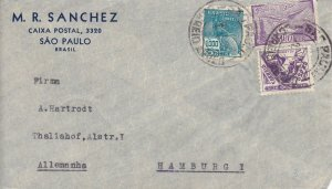 BR1) BRAZIL 1935 INDUSTRY AND CULTURE; AIRMAIL