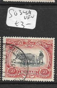 MALAYA KEDAH (P1105B) COW  30C  SG 34A      VFU