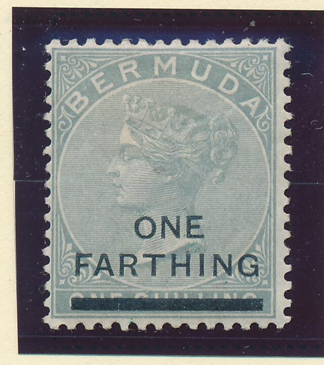 Bermuda Stamp Scott #26, Mint Hinged