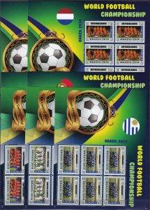 Liberia #2949-57  MNH Sheets Of 6 CV $36.00  (Z2511L)
