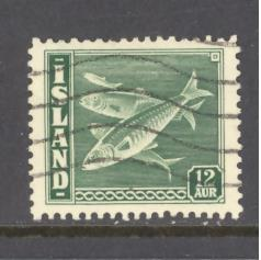 Iceland Sc # 223 used (RS)