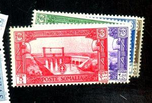 SOMALIA B33-7 MINT FVF OG HR Cat $30