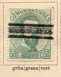 Spain 1872-73 Early Issue Fine Used 50c. NW-16575