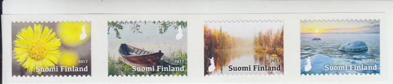 2017 Finland Four Seasons SA Coil S4 (Scott NA) MNH