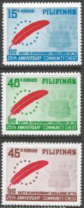 PHILIPPINES 1392 MNH BIRDS L888-3